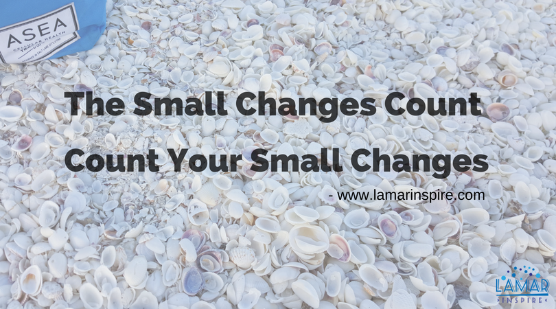 The small changes count